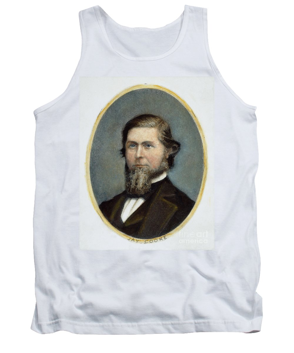 19th Century Tank Top featuring the photograph Jay Cooke (1821-1905) by Granger