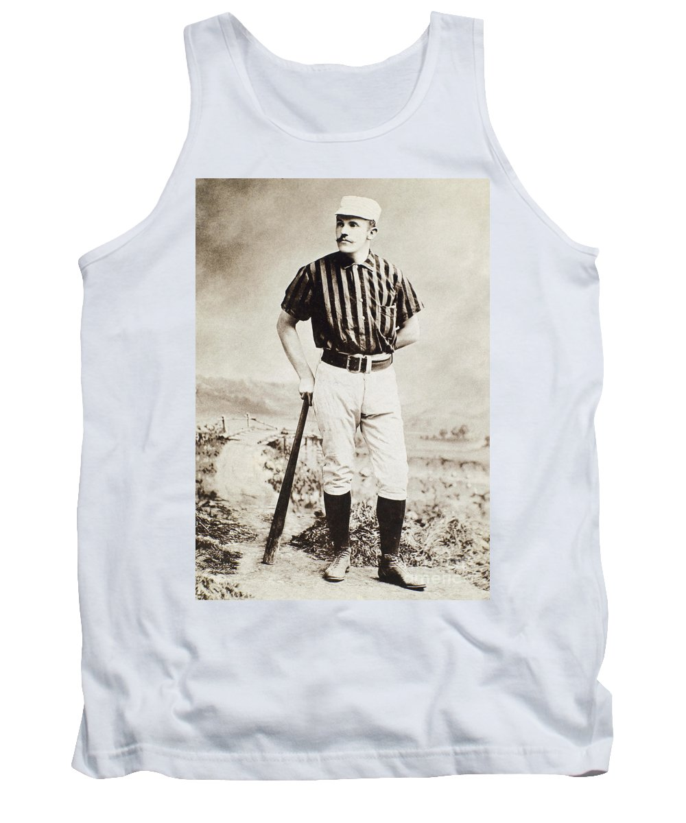 1885 Tank Top featuring the photograph John M. Ward (1860-1925) by Granger