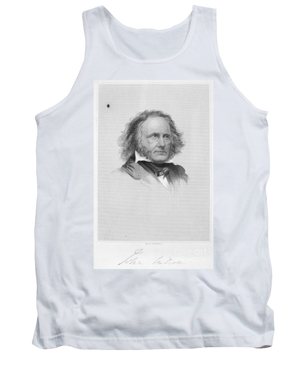 19th Century Tank Top featuring the photograph John Wilson (1785-1854) by Granger