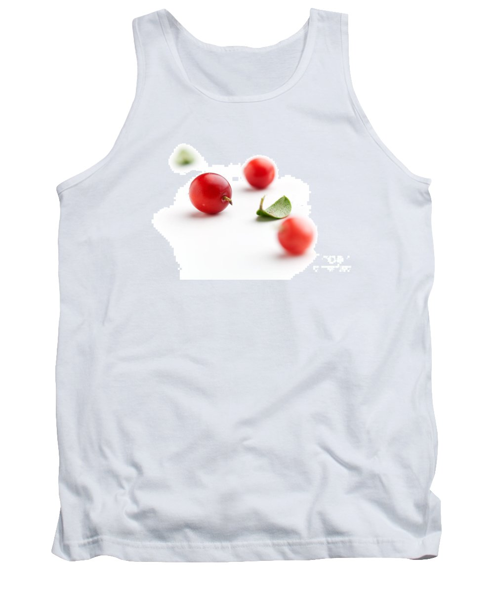 Autumn Tank Top featuring the photograph Lingonberries by Kati Finell