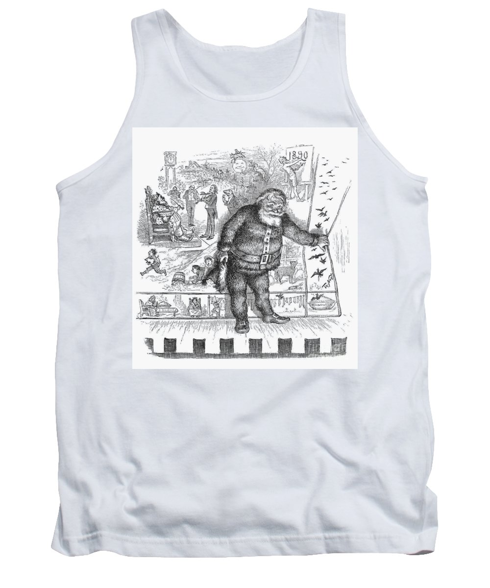 1890 Tank Top featuring the photograph Nast: Santa Claus, 1890 by Granger