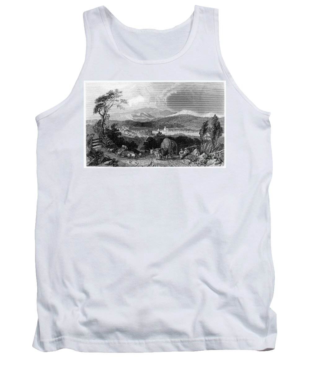 1839 Tank Top featuring the photograph New Hampshire, 1839 by Granger