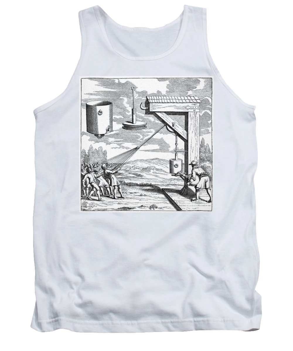 1672 Tank Top featuring the photograph Otto Von Guericke, 1672 by Granger