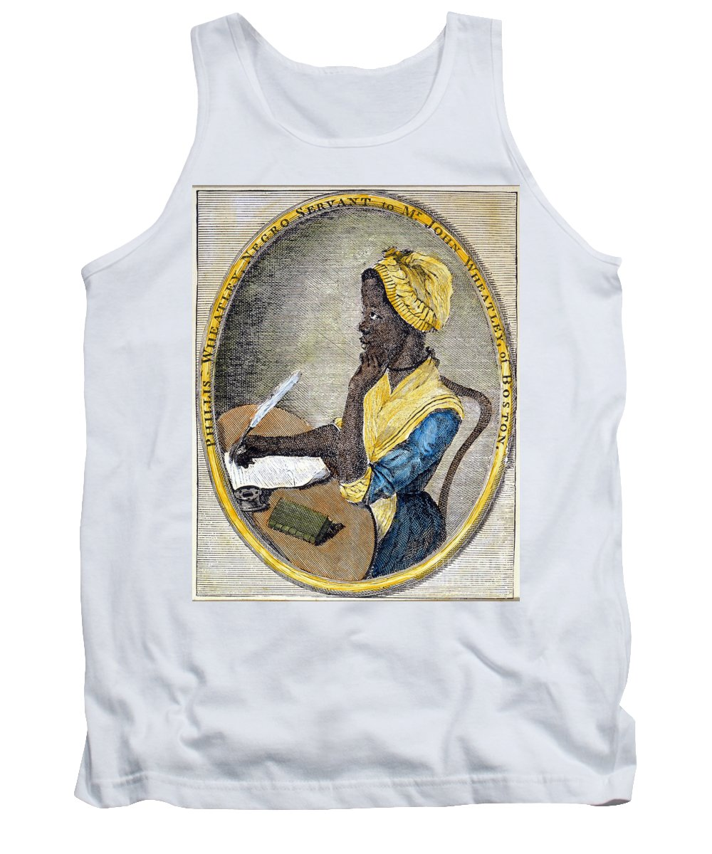 1773 Tank Top featuring the photograph Phillis Wheatley by Granger
