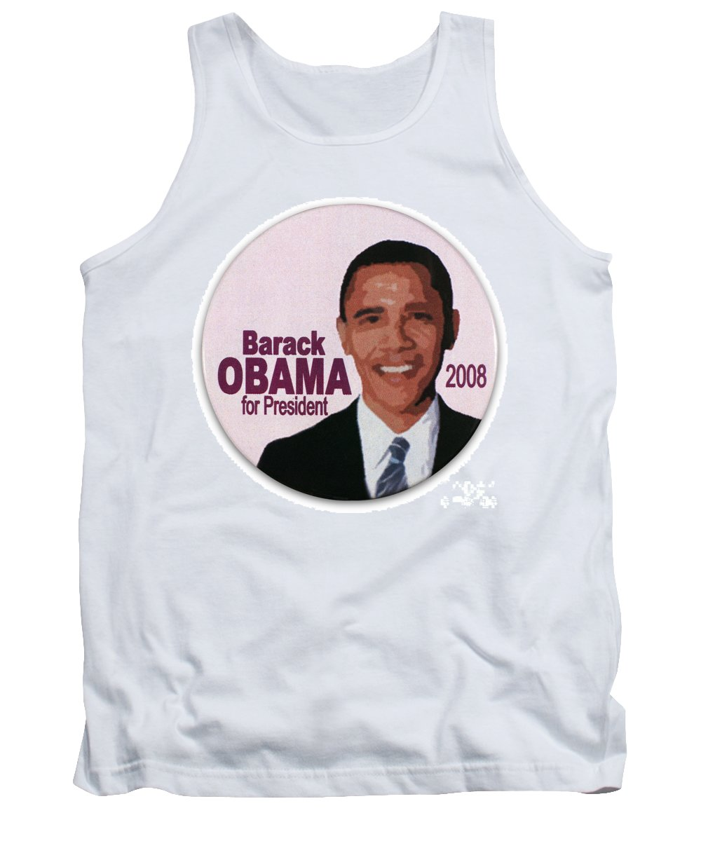 2008 Tank Top featuring the photograph Presidential Campaign, 2008 by Granger