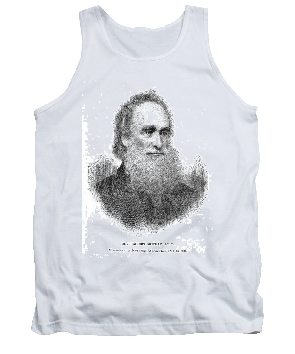 19th Century Tank Top featuring the photograph Robert Moffat (1795-1883) by Granger