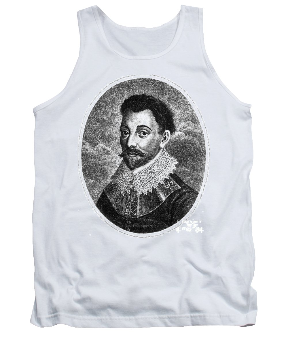 History Tank Top featuring the photograph Sir Francis Drake, English Explorer by Photo Researchers