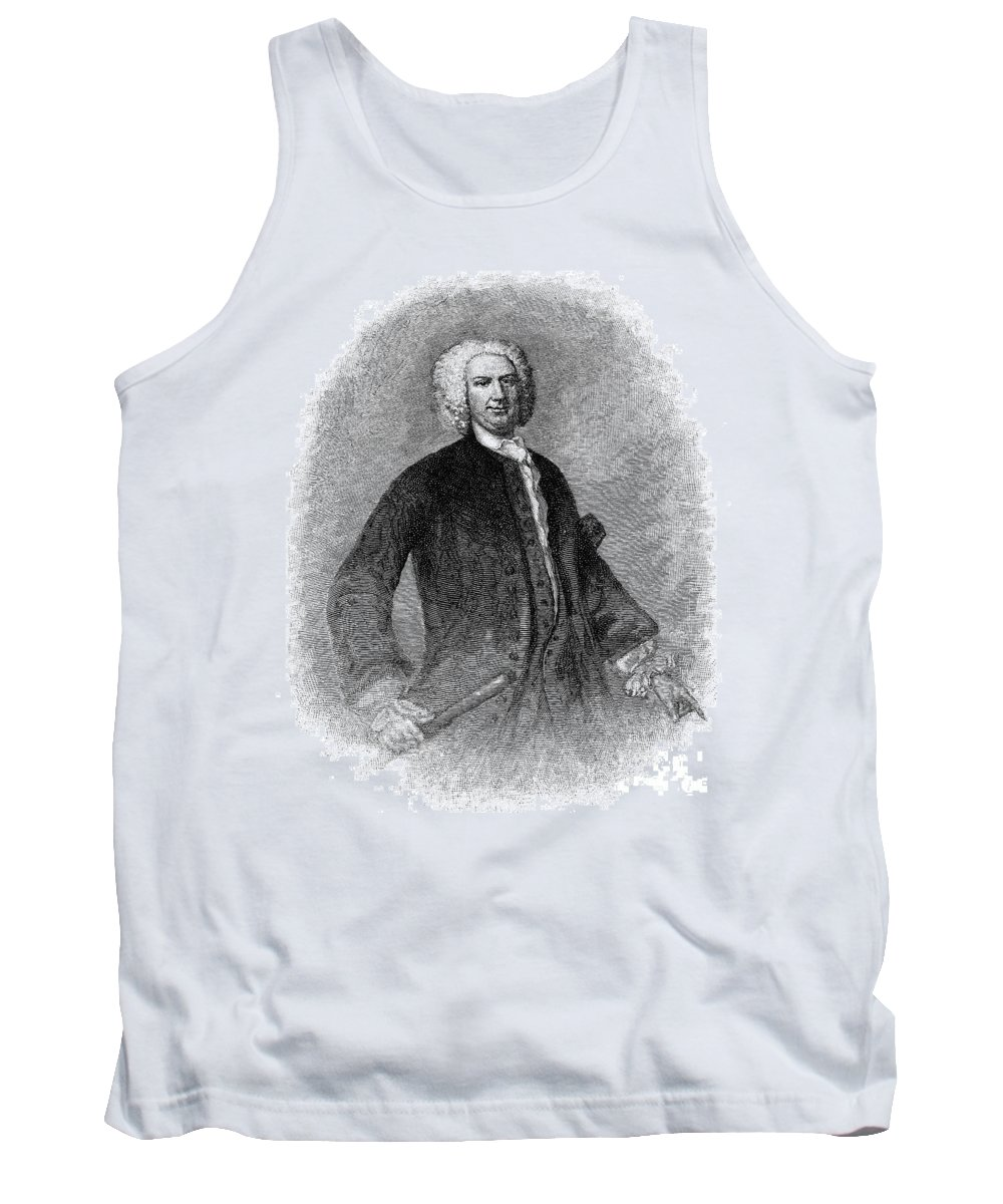 18th Century Tank Top featuring the photograph Sir William Pepperell by Granger