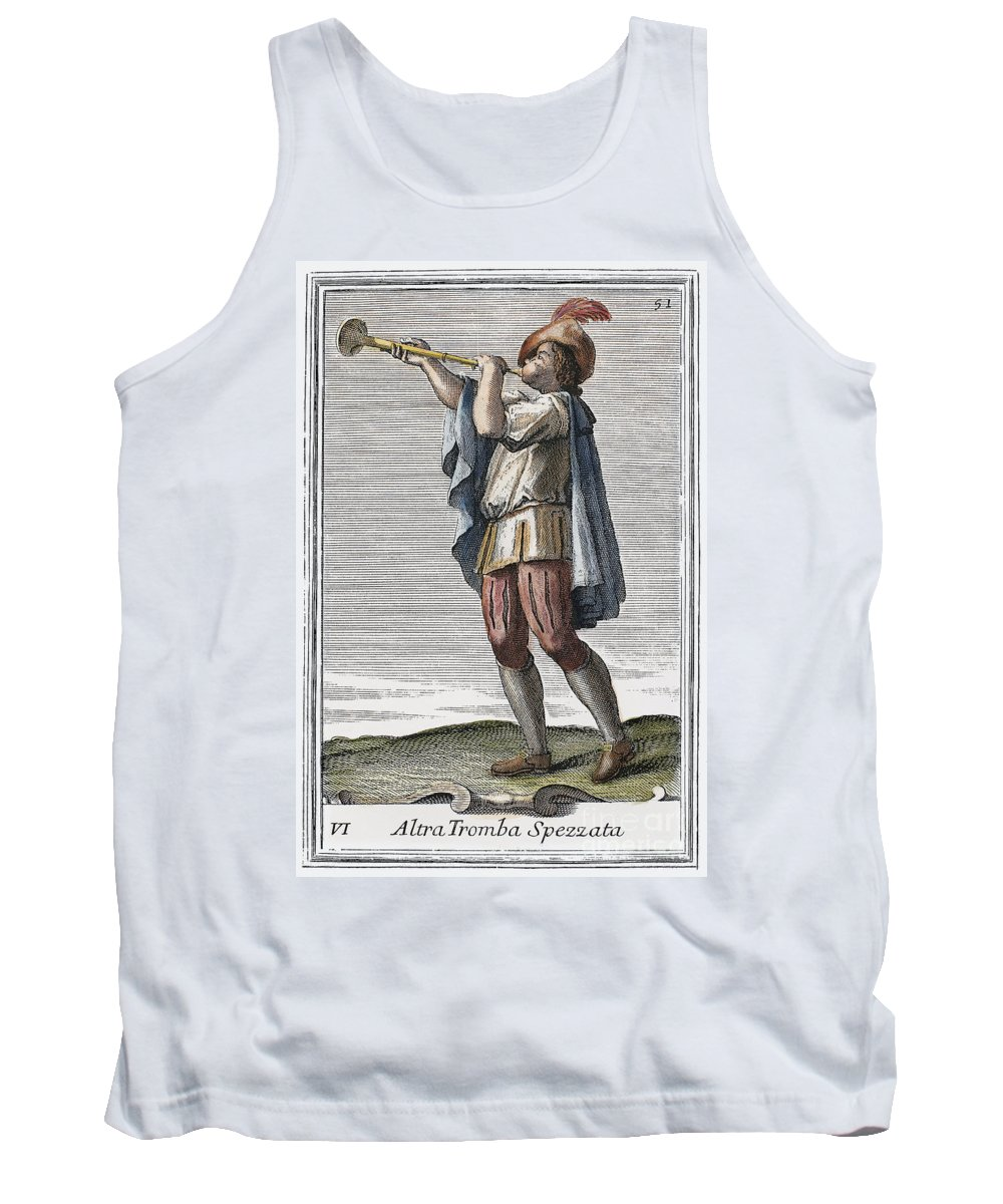 1723 Tank Top featuring the photograph Slide Trumpet, 1723 by Granger
