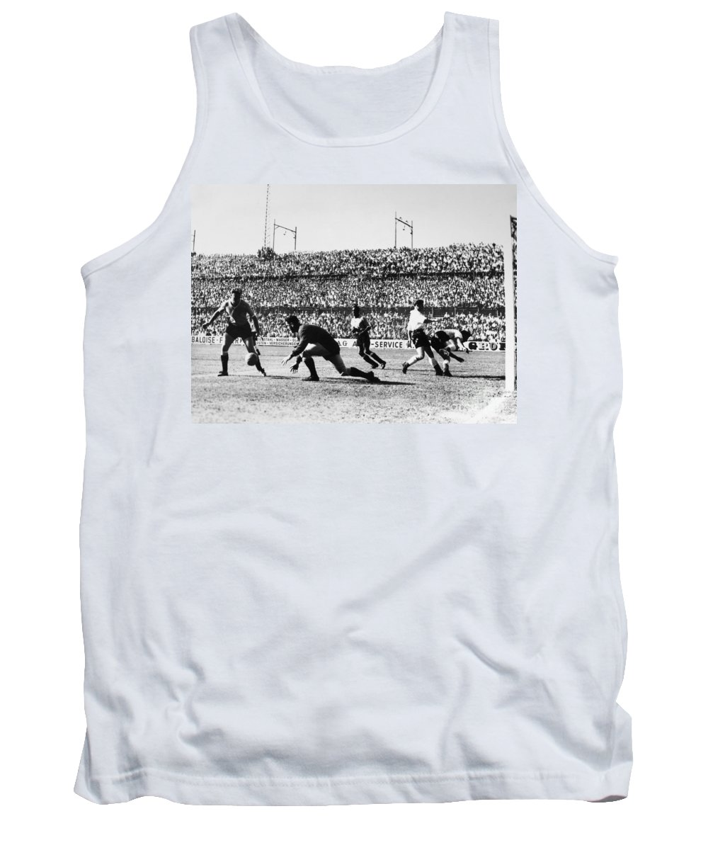 1930s Tank Top featuring the photograph Soccer Match, 1930s by Granger