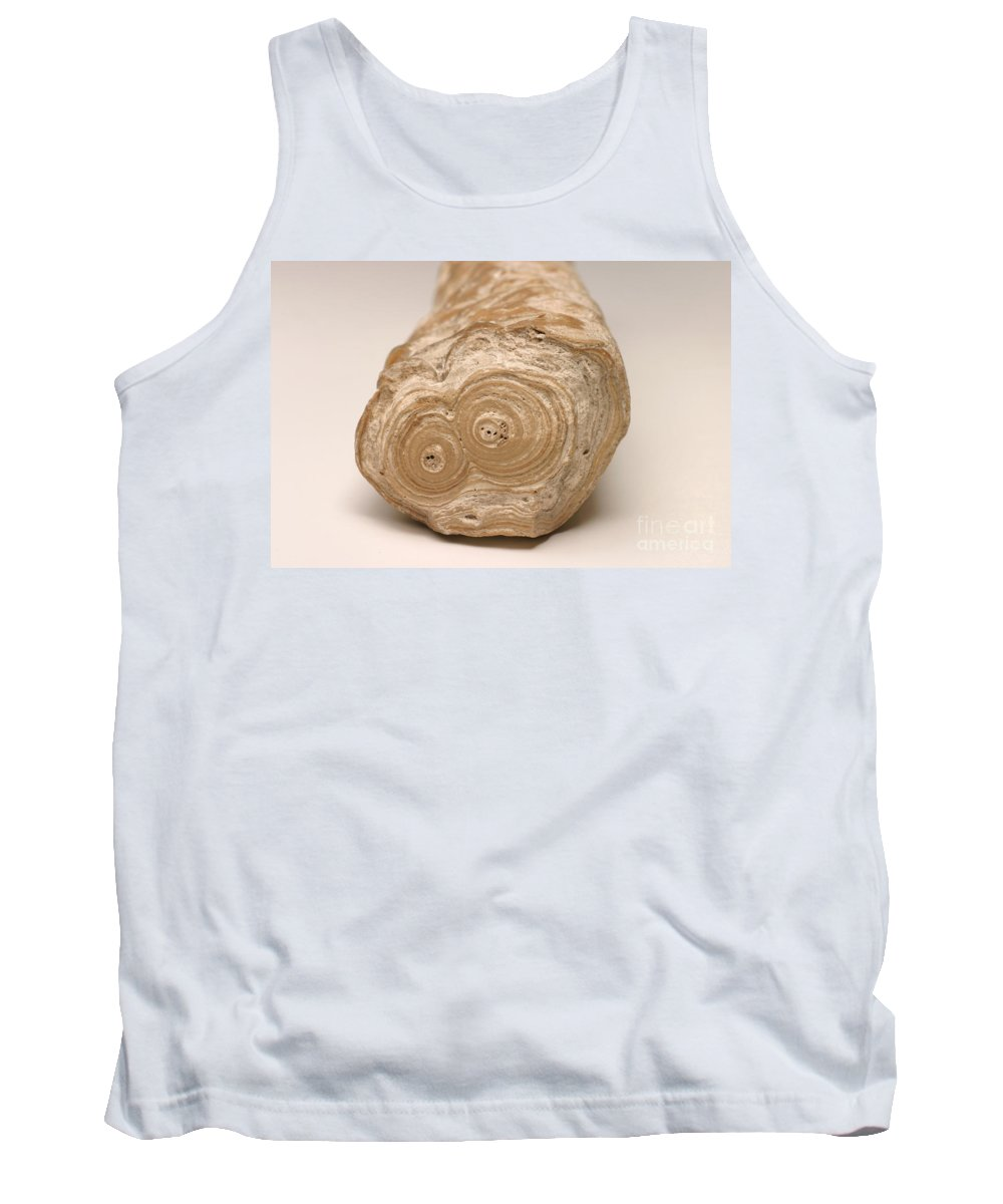 Stalactite Tank Top featuring the photograph Stalactite by Ted Kinsman