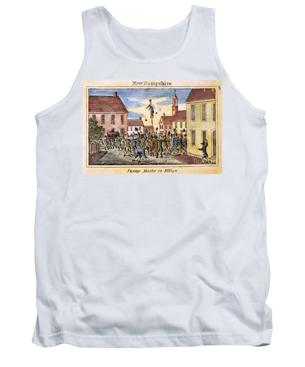 1765 Tank Top featuring the photograph Stamp Act: Protest, 1765 by Granger