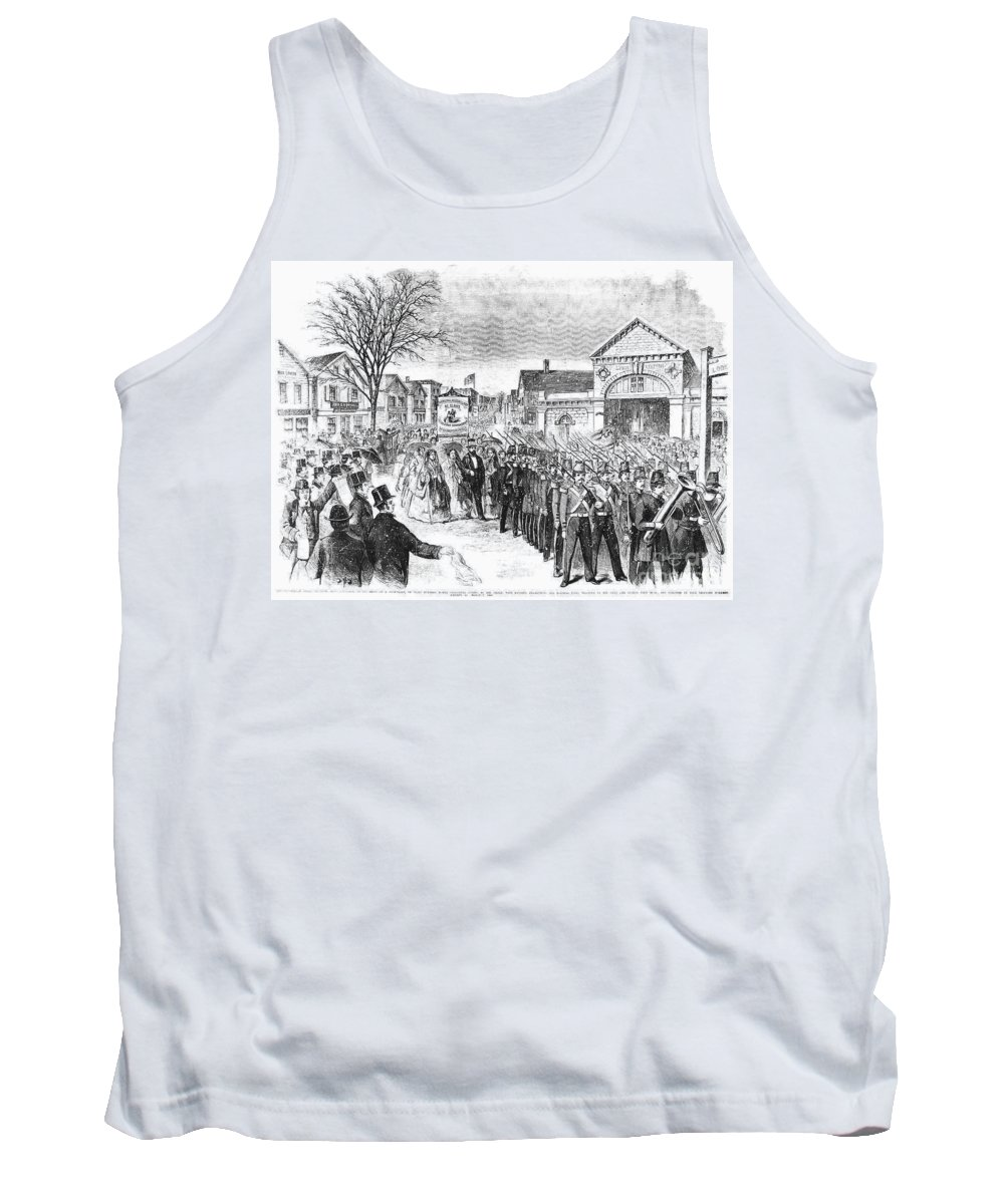 1860 Tank Top featuring the photograph Striking Women, 1860 by Granger