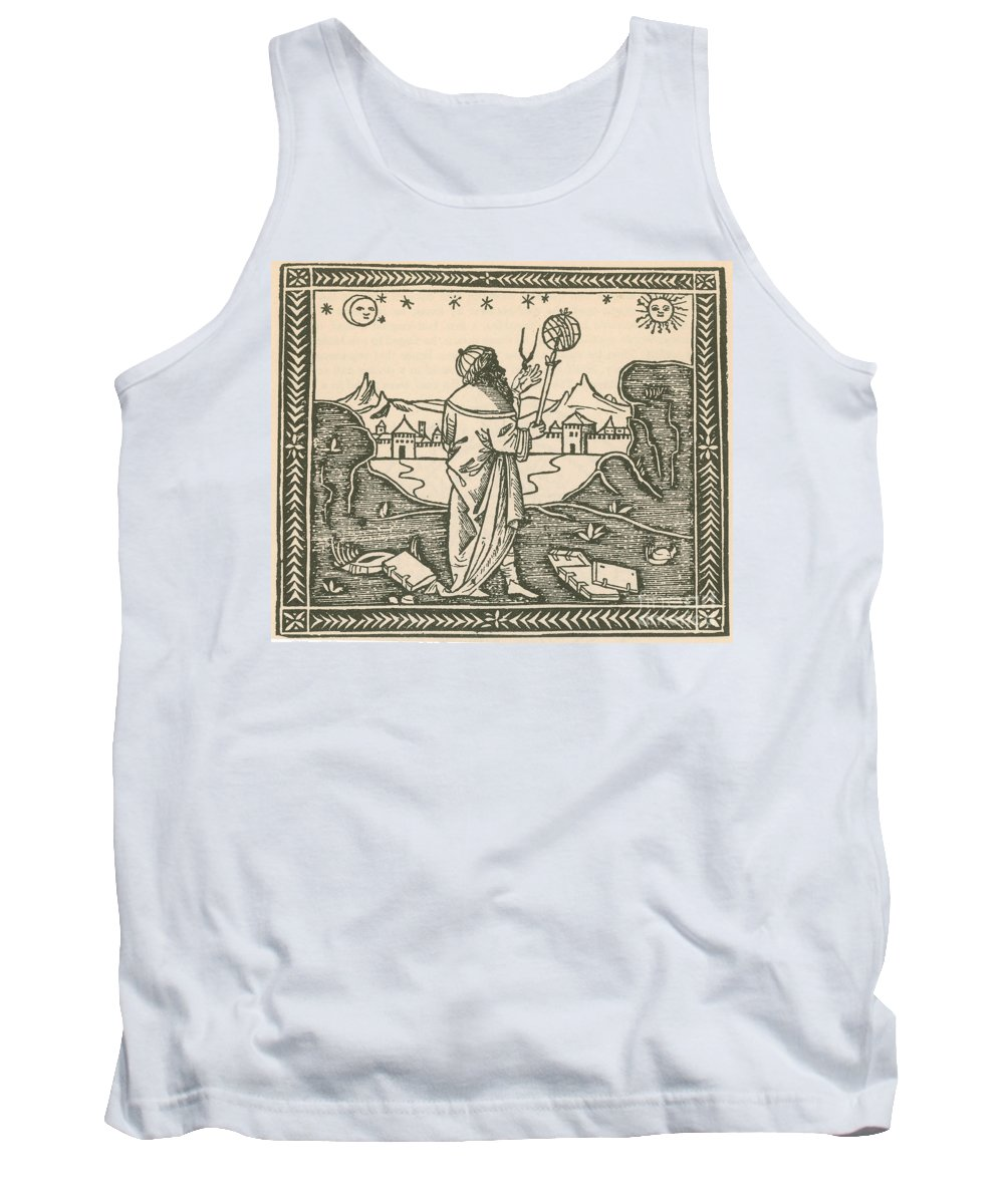 1500s Tank Top featuring the photograph The Astrologer Albumasar by Science Source