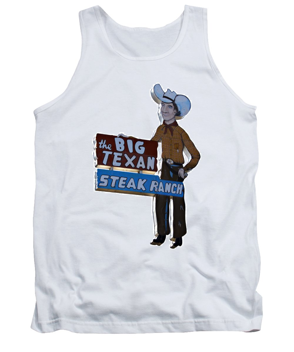 Big Tank Top featuring the photograph The Big Texan by Ricky Barnard