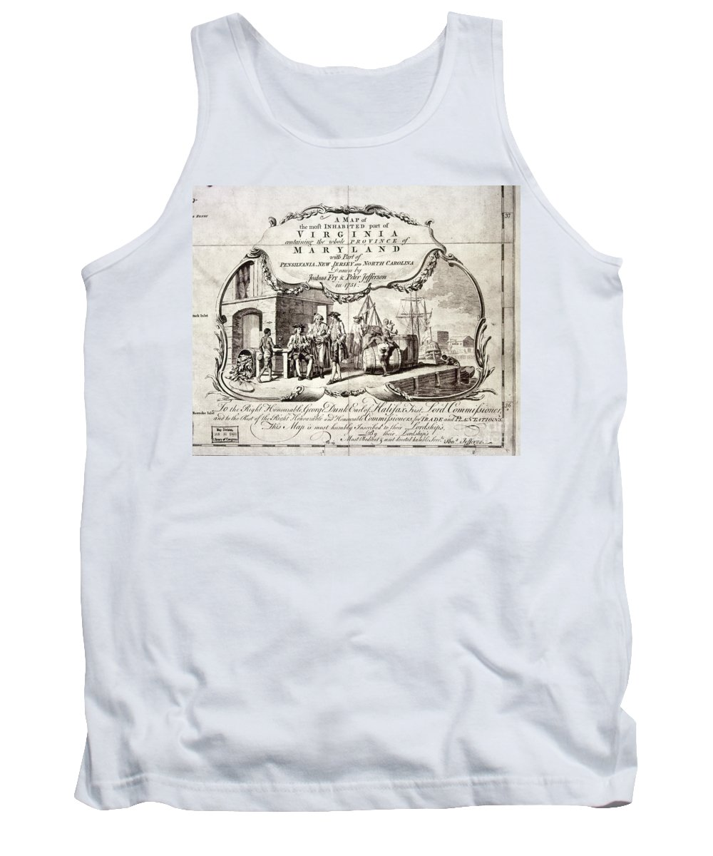 1751 Tank Top featuring the photograph Tobacco Warehouse, 1775 by Granger