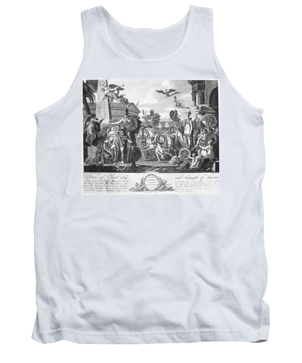 1814 Tank Top featuring the photograph Treaty Of Ghent, 1814 by Granger