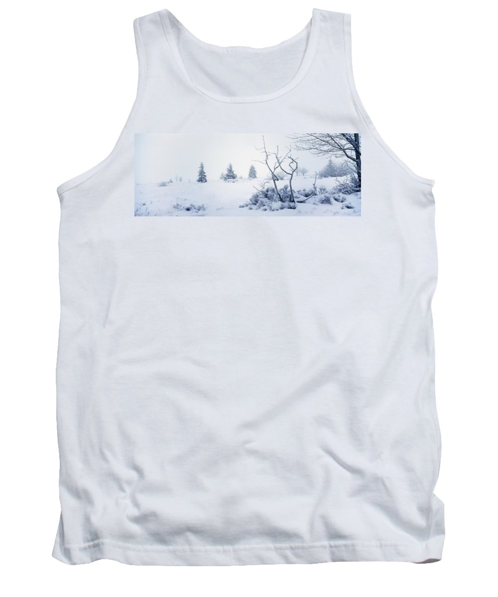 Moorland Tank Top featuring the photograph Winter On The Moor by Ulrich Kunst And Bettina Scheidulin