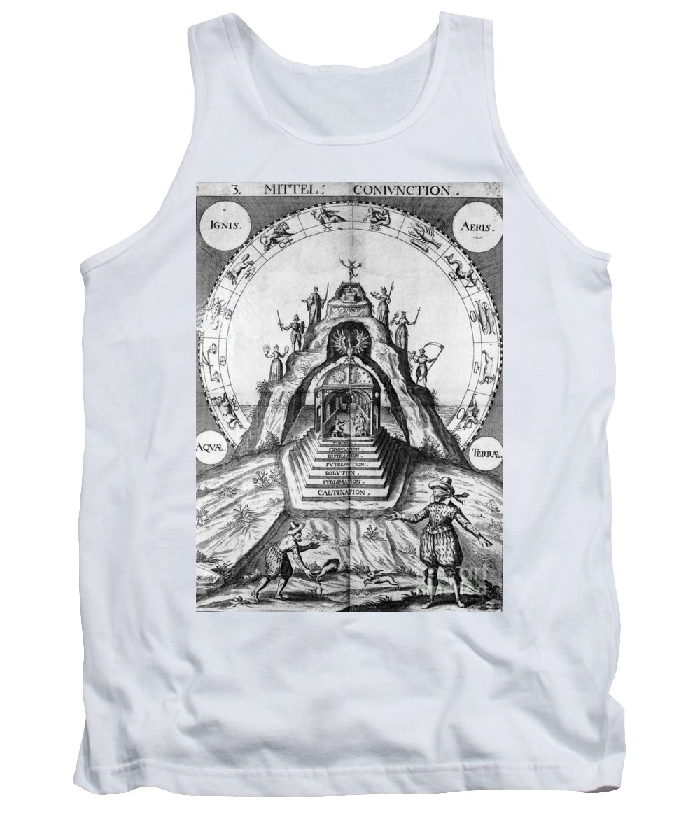 17th Century Tank Top featuring the photograph Alchemy Illustration by Science Source
