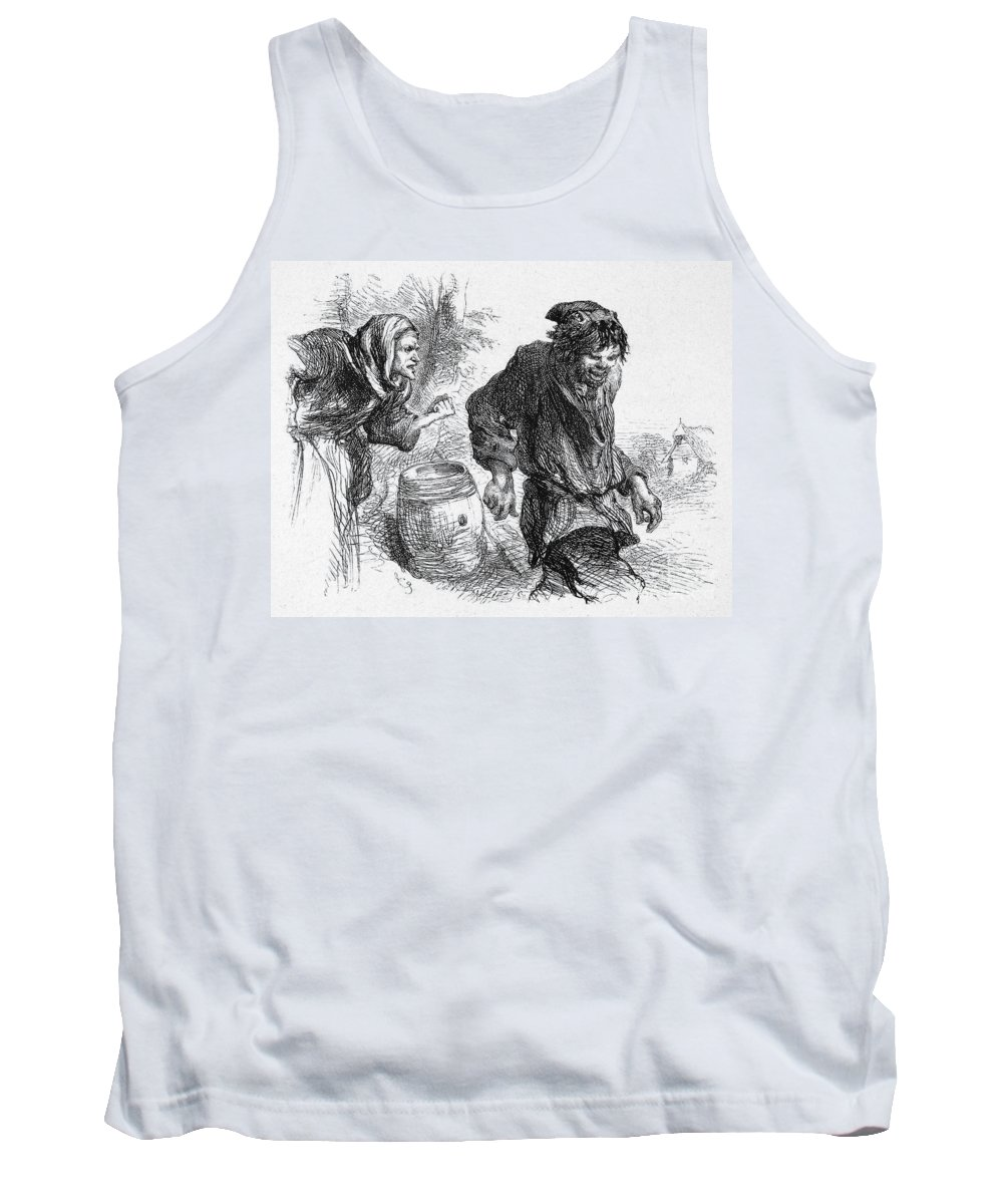 16th Century Tank Top featuring the photograph Taming Of The Shrew by Granger