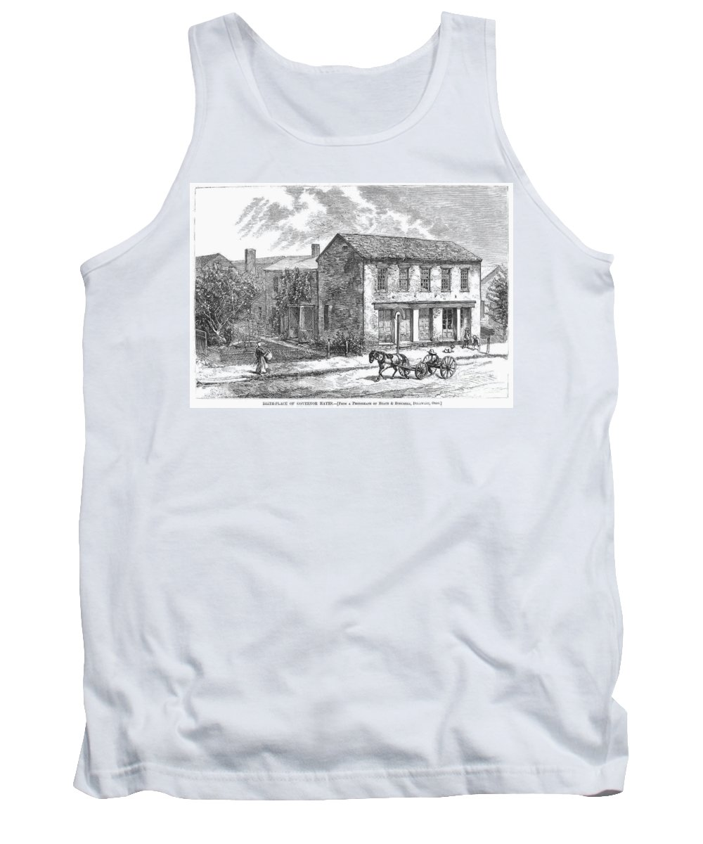 1876 Tank Top featuring the photograph Rutherford B. Hayes by Granger