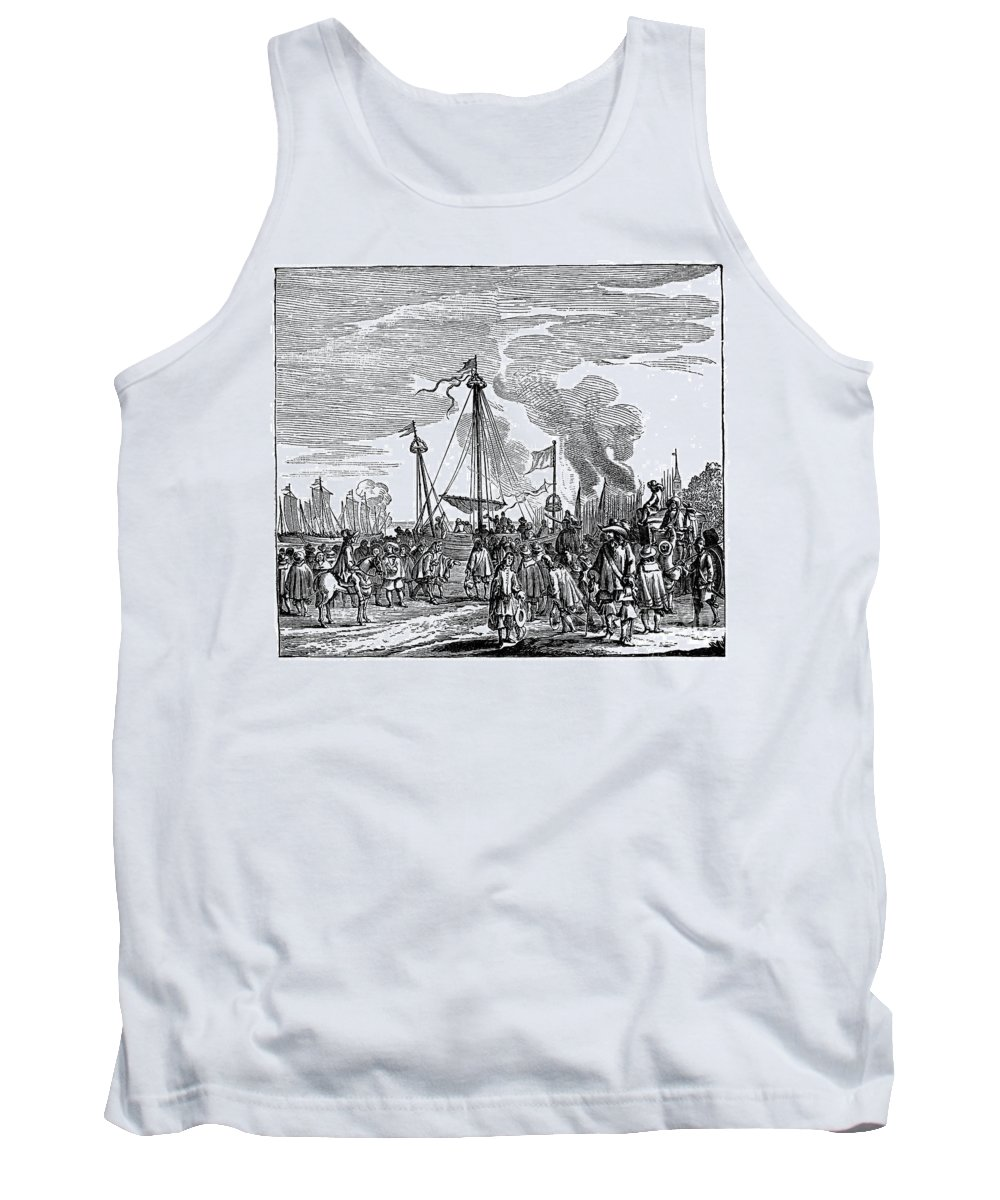 1660 Tank Top featuring the photograph Charles II (1630-1685) by Granger