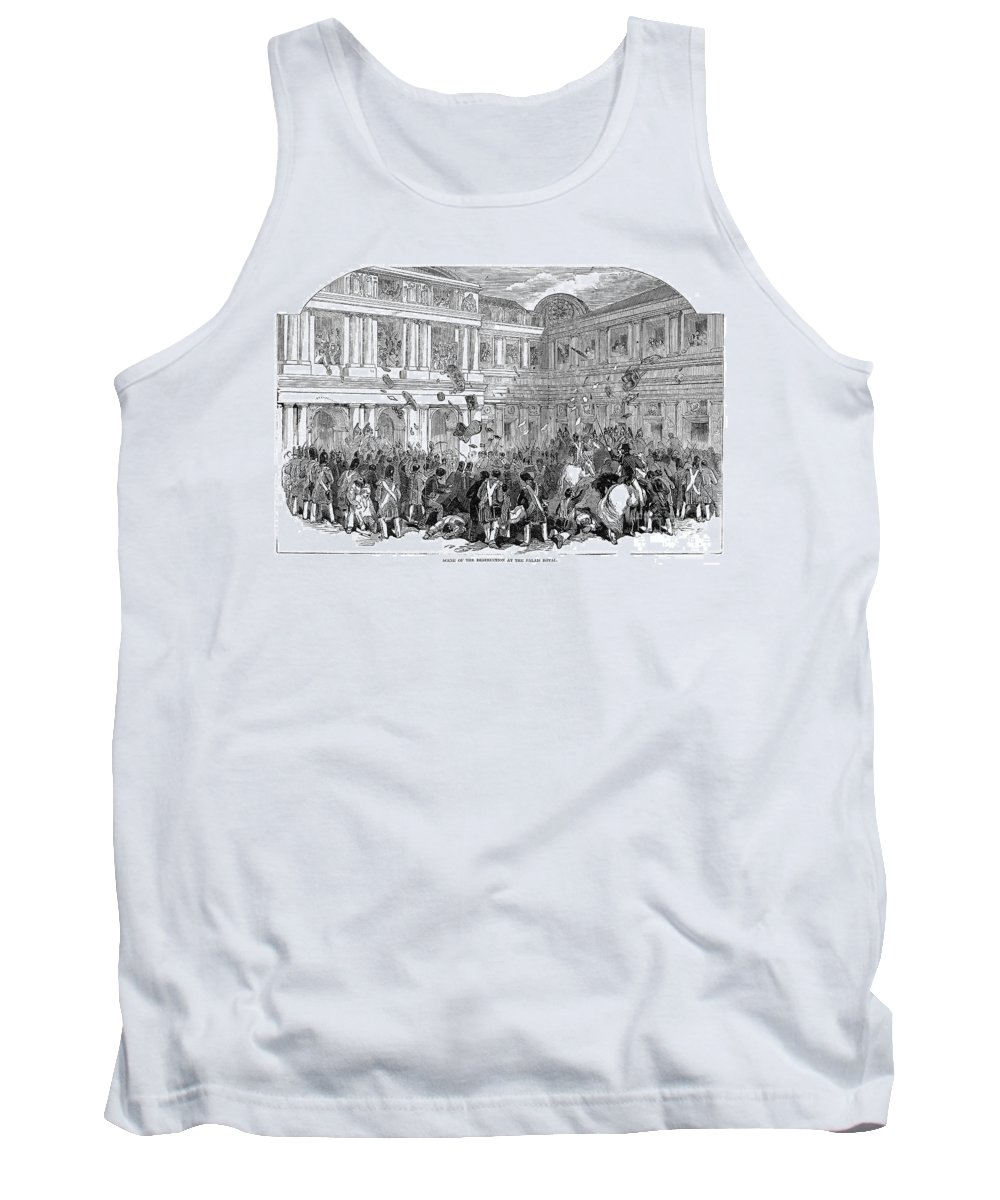 1848 Tank Top featuring the photograph France: Revolution Of 1848 by Granger