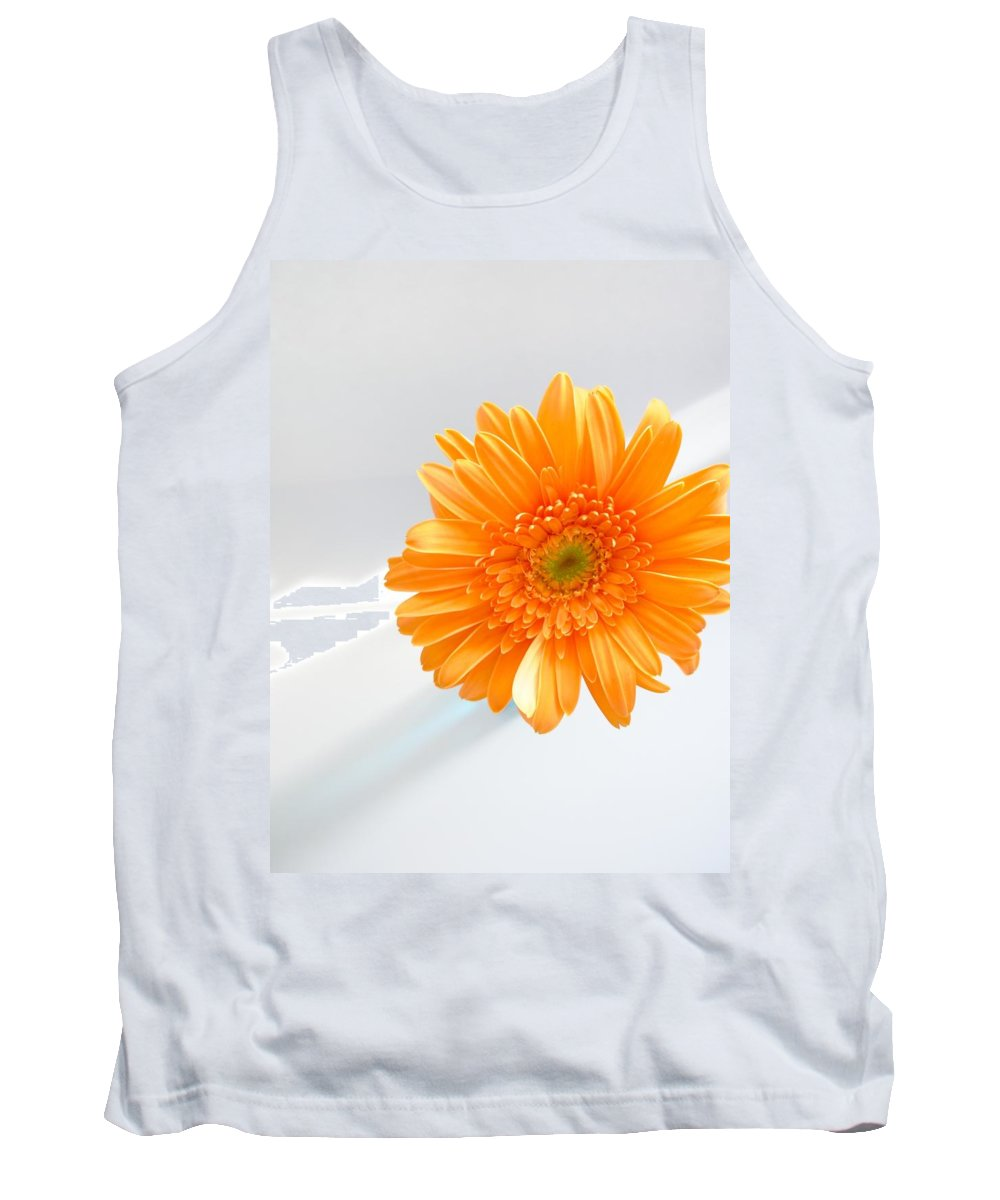 Gerbera Photographs Tank Top featuring the photograph 1610c by Kimberlie Gerner