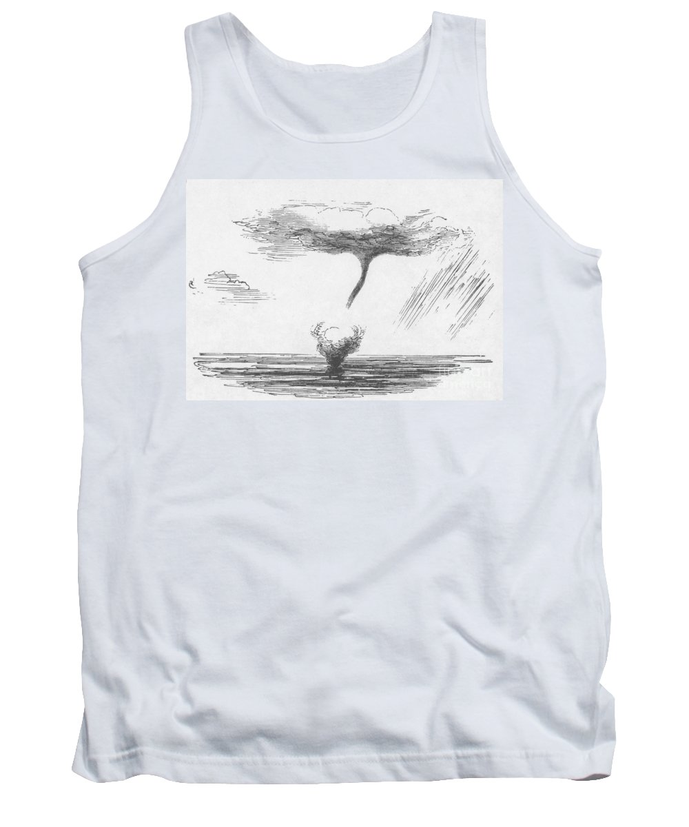 Weather Tank Top featuring the photograph Waterspout by Science Source