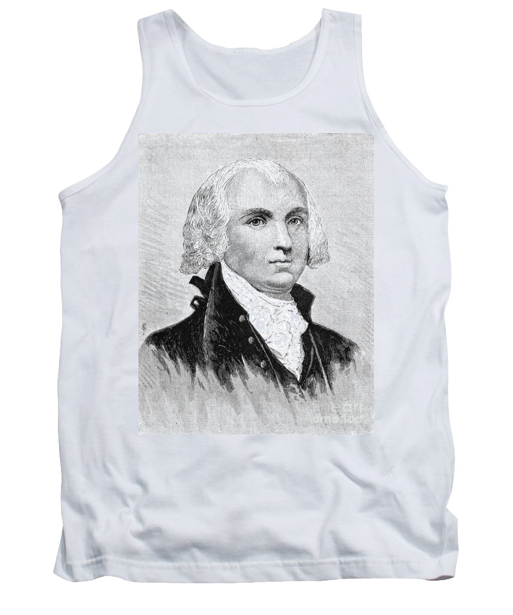 18th Century Tank Top featuring the photograph James Madison (1751-1836) by Granger