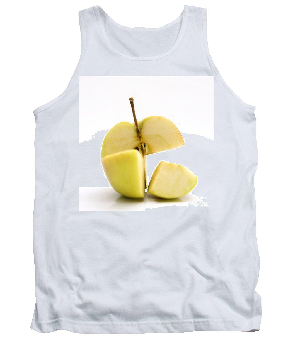 Yellow Apple Tank Top featuring the photograph Apple by Bernard Jaubert