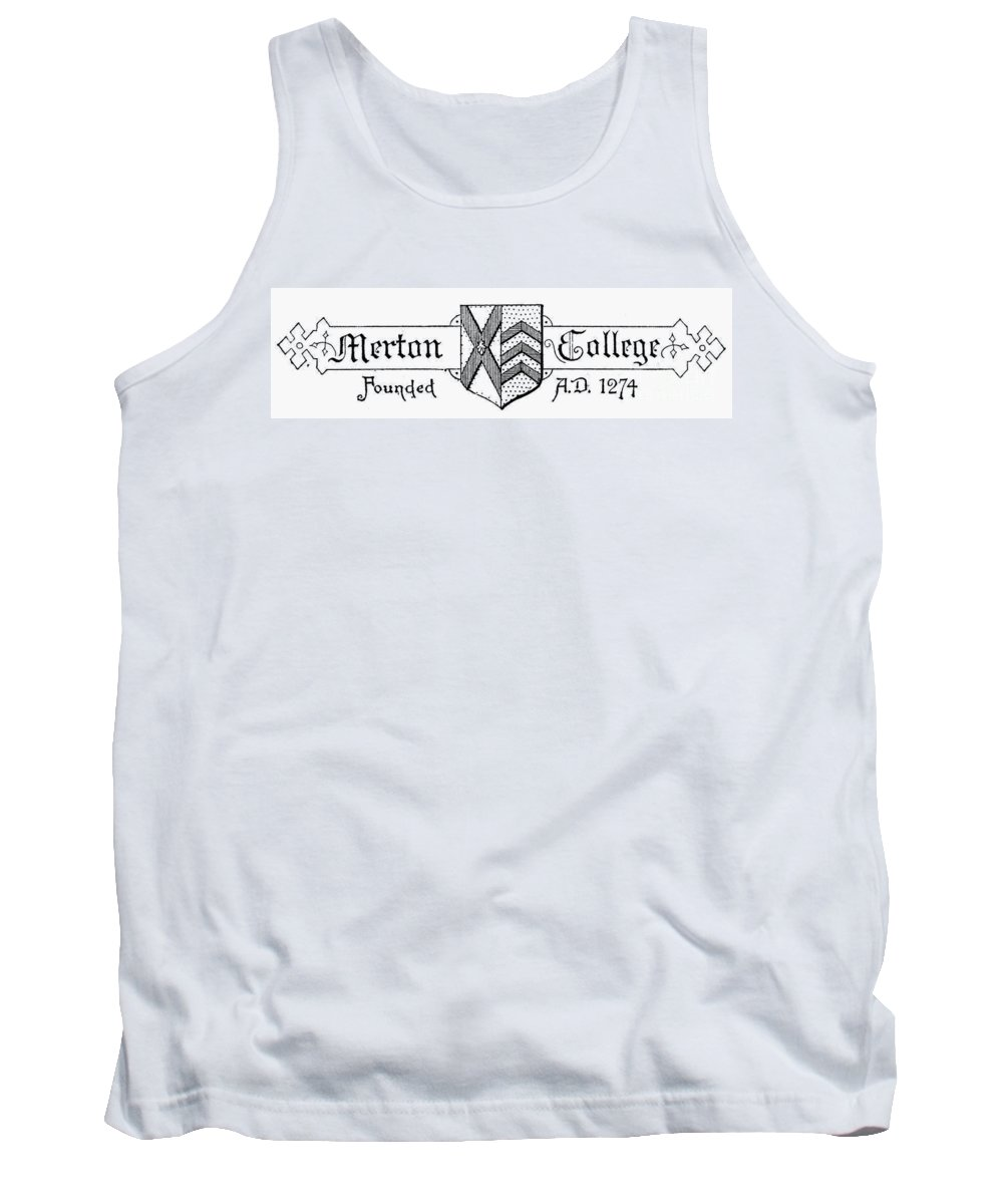 Coat Of Arms Tank Top featuring the photograph Oxford: Coat Of Arms by Granger