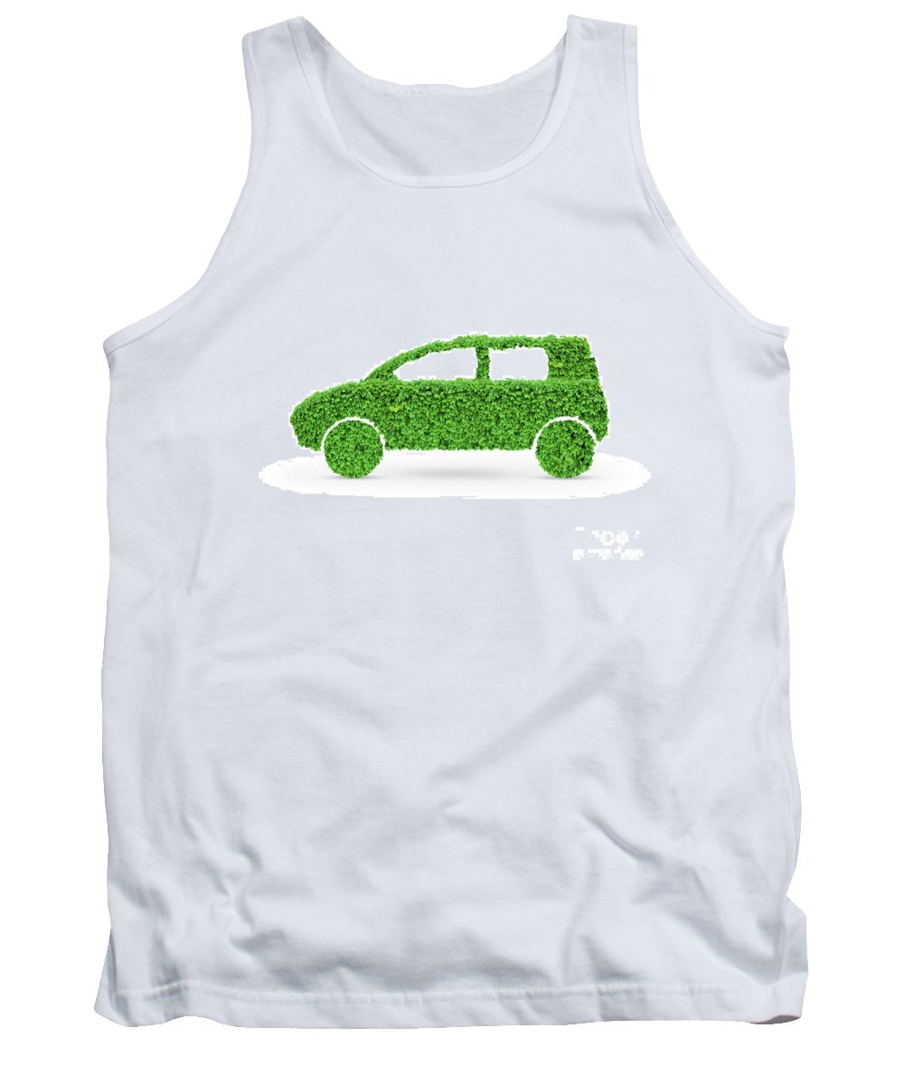 Green Car Tank Top featuring the photograph Green Car by Oleksiy Maksymenko