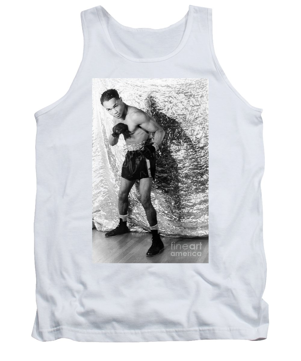 1937 Tank Top featuring the photograph Henry Armstrong (1912-1988) by Granger
