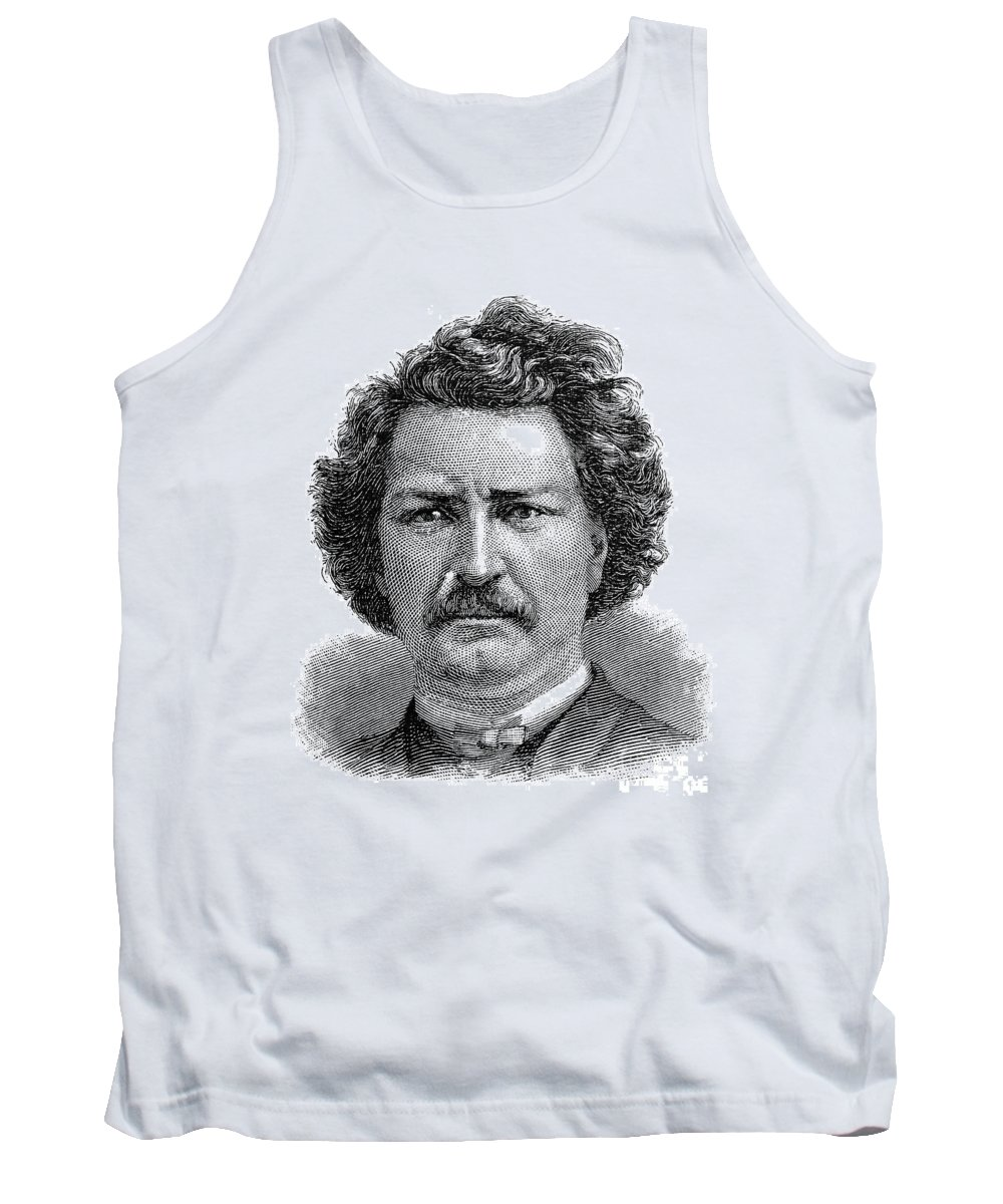1885 Tank Top featuring the photograph Louis Riel (1844-1885) by Granger