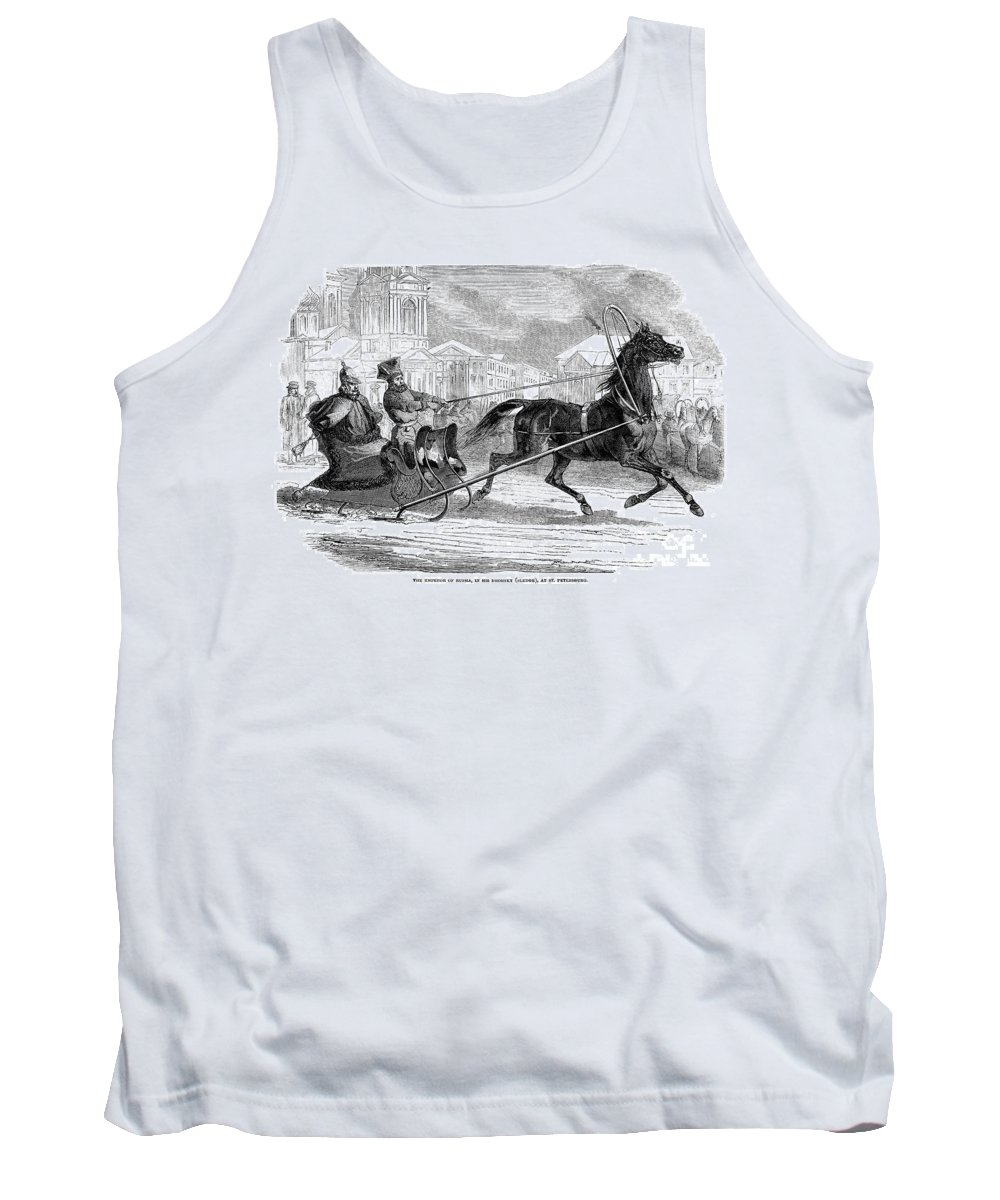 1853 Tank Top featuring the photograph Nicholas I (1796-1855) by Granger