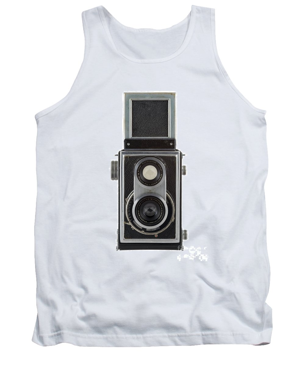 Camera Tank Top featuring the photograph Old Camera by Michal Boubin