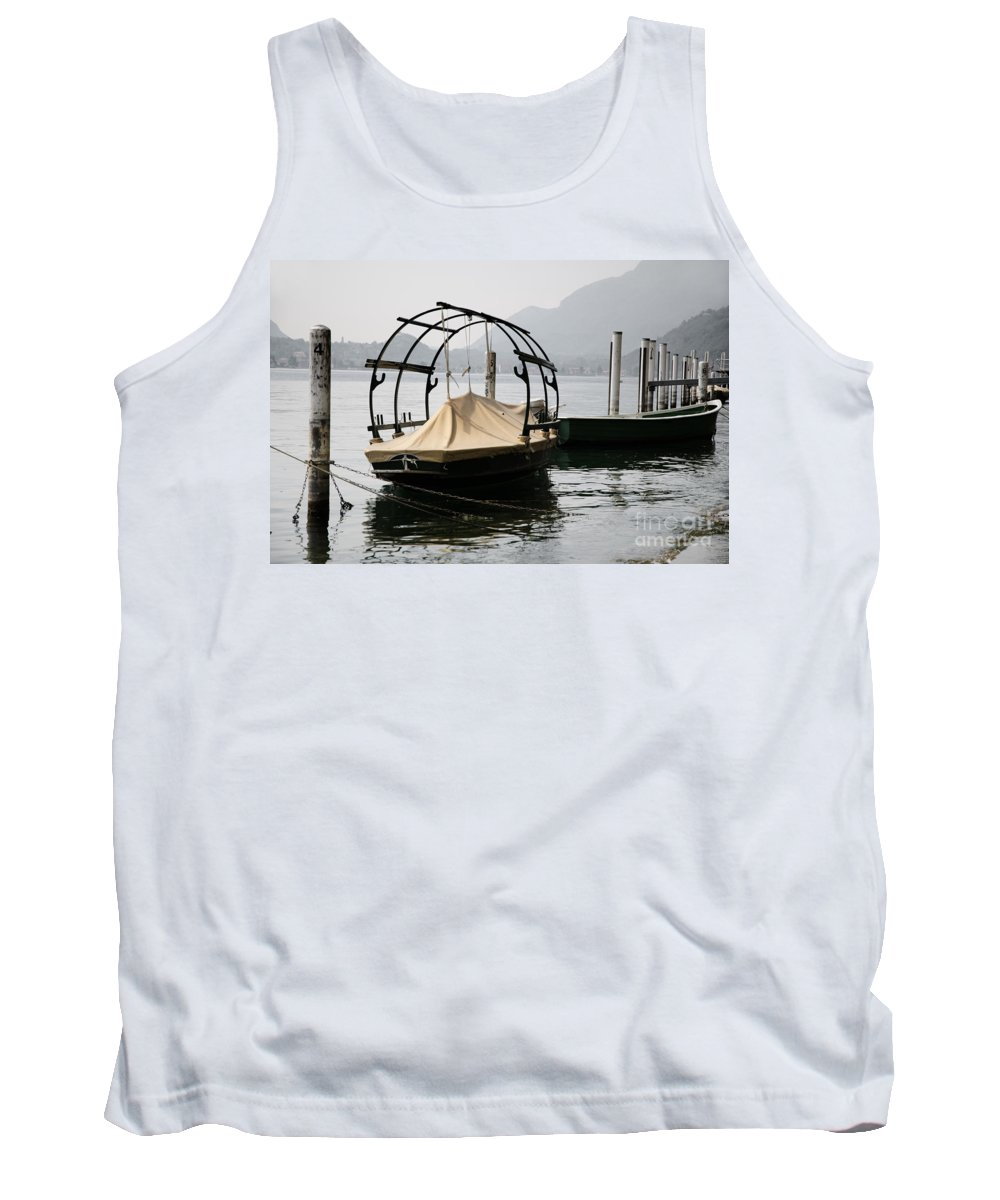 Boat Tank Top featuring the photograph Old Fishing Boat by Mats Silvan