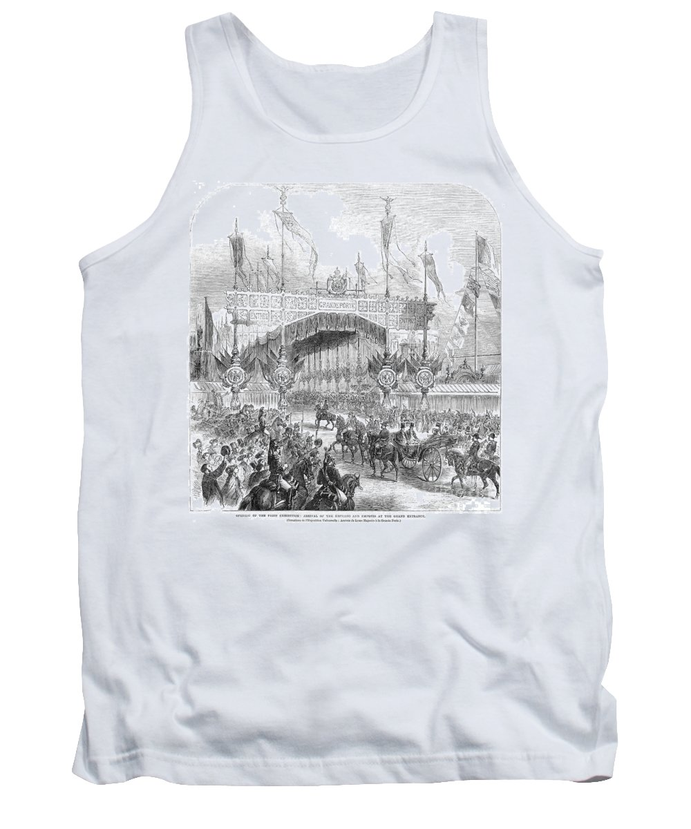 1855 Tank Top featuring the photograph Paris Exposition, 1855 by Granger