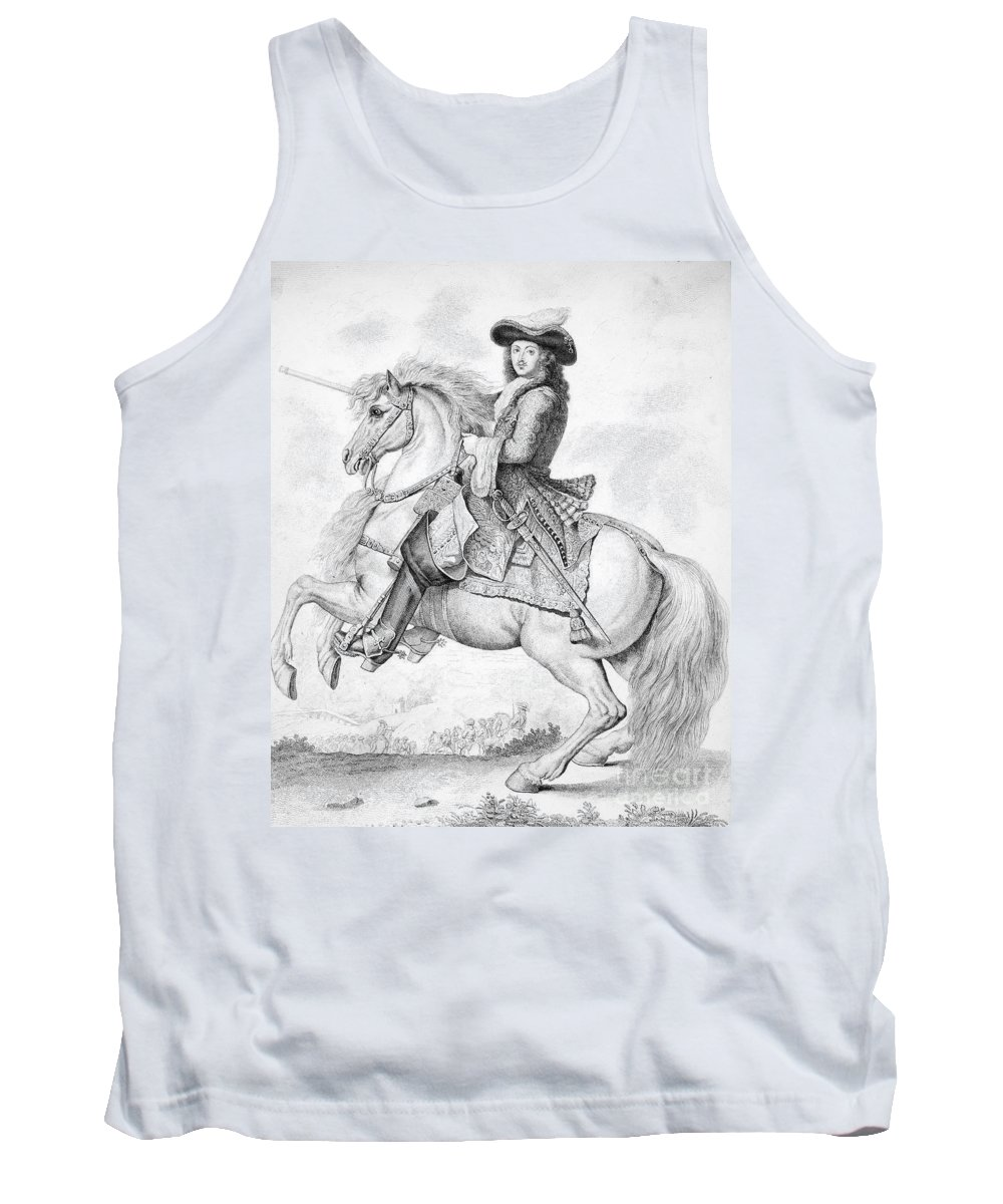 18th Century Tank Top featuring the photograph Louis Xiv (1638-1715) by Granger