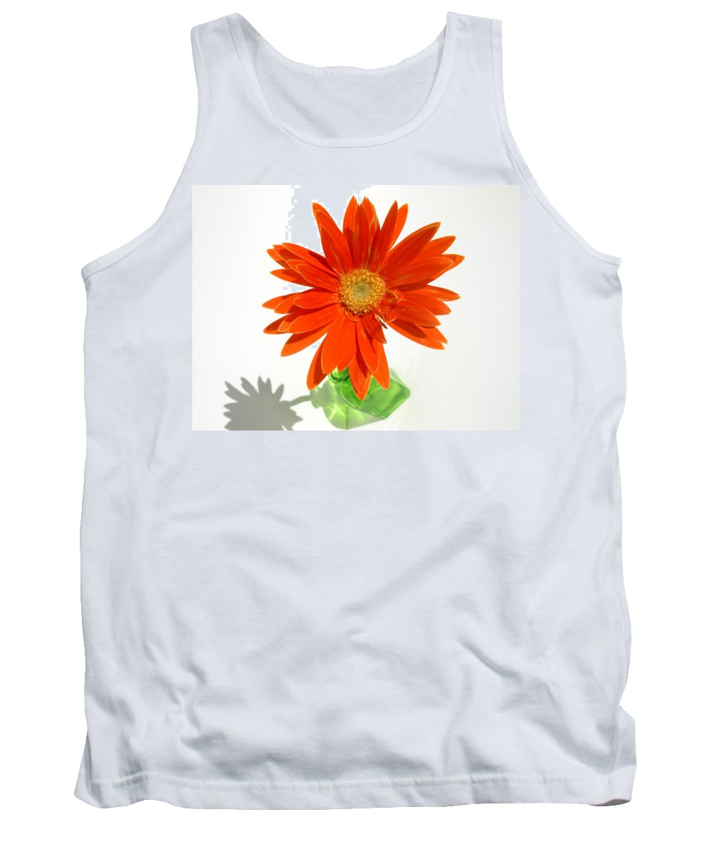Gerbera Photographs Tank Top featuring the photograph 2116a by Kimberlie Gerner