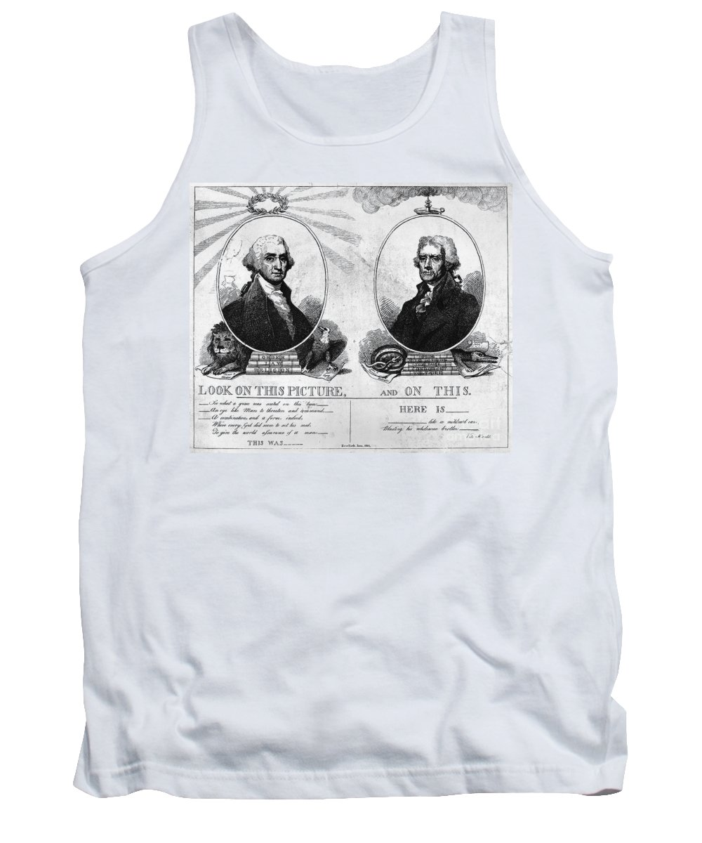 1807 Tank Top featuring the photograph Thomas Jefferson (1743-1826) by Granger