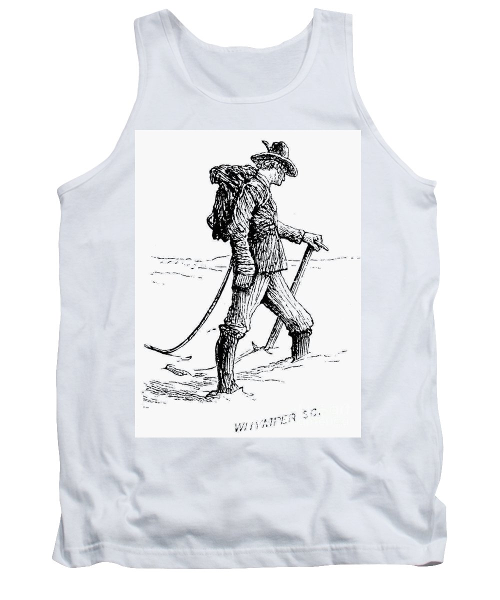 1871 Tank Top featuring the photograph Alpine Mountaineering by Granger