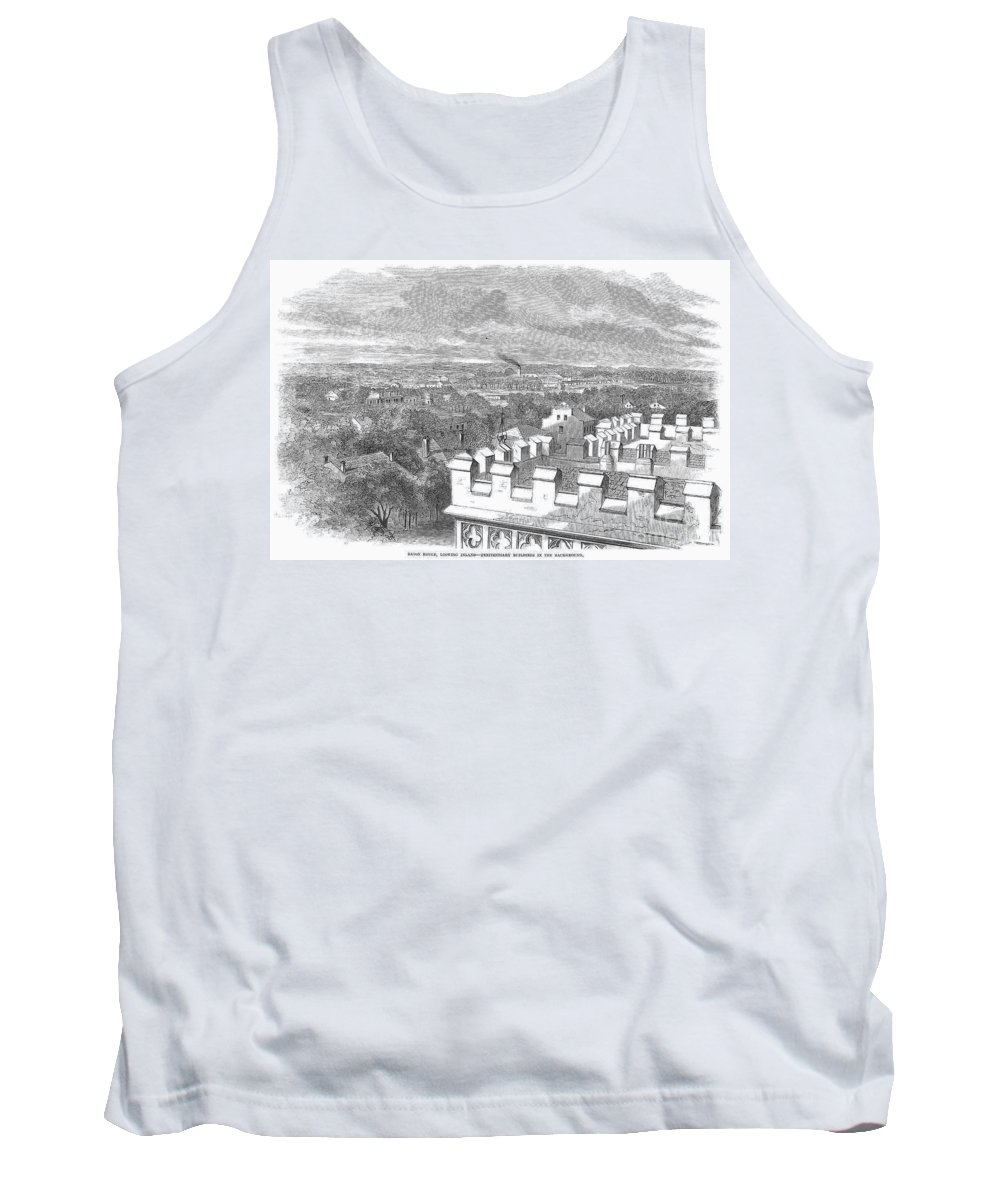 1862 Tank Top featuring the photograph Baton Rouge, 1862 by Granger