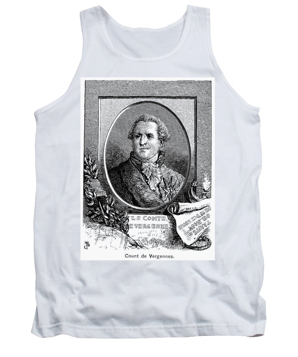18th Century Tank Top featuring the photograph Charles De Vergennes by Granger