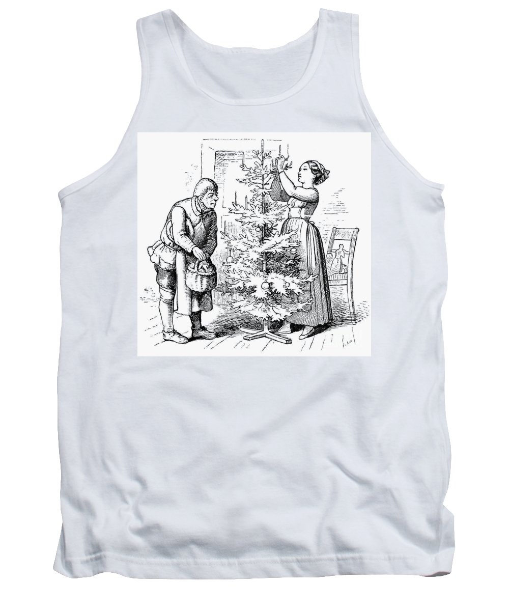 19th Century Tank Top featuring the photograph Christmas Tree by Granger