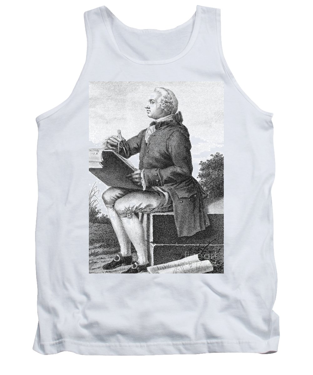18th Century Tank Top featuring the photograph Jean Le Rond D Alembert by Granger
