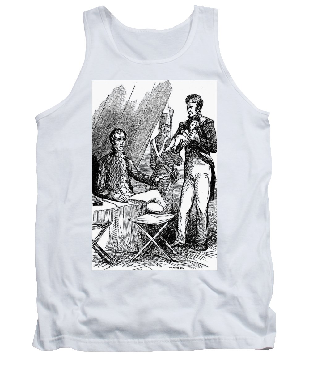 1813 Tank Top featuring the photograph Andrew Jackson (1767-1845) by Granger