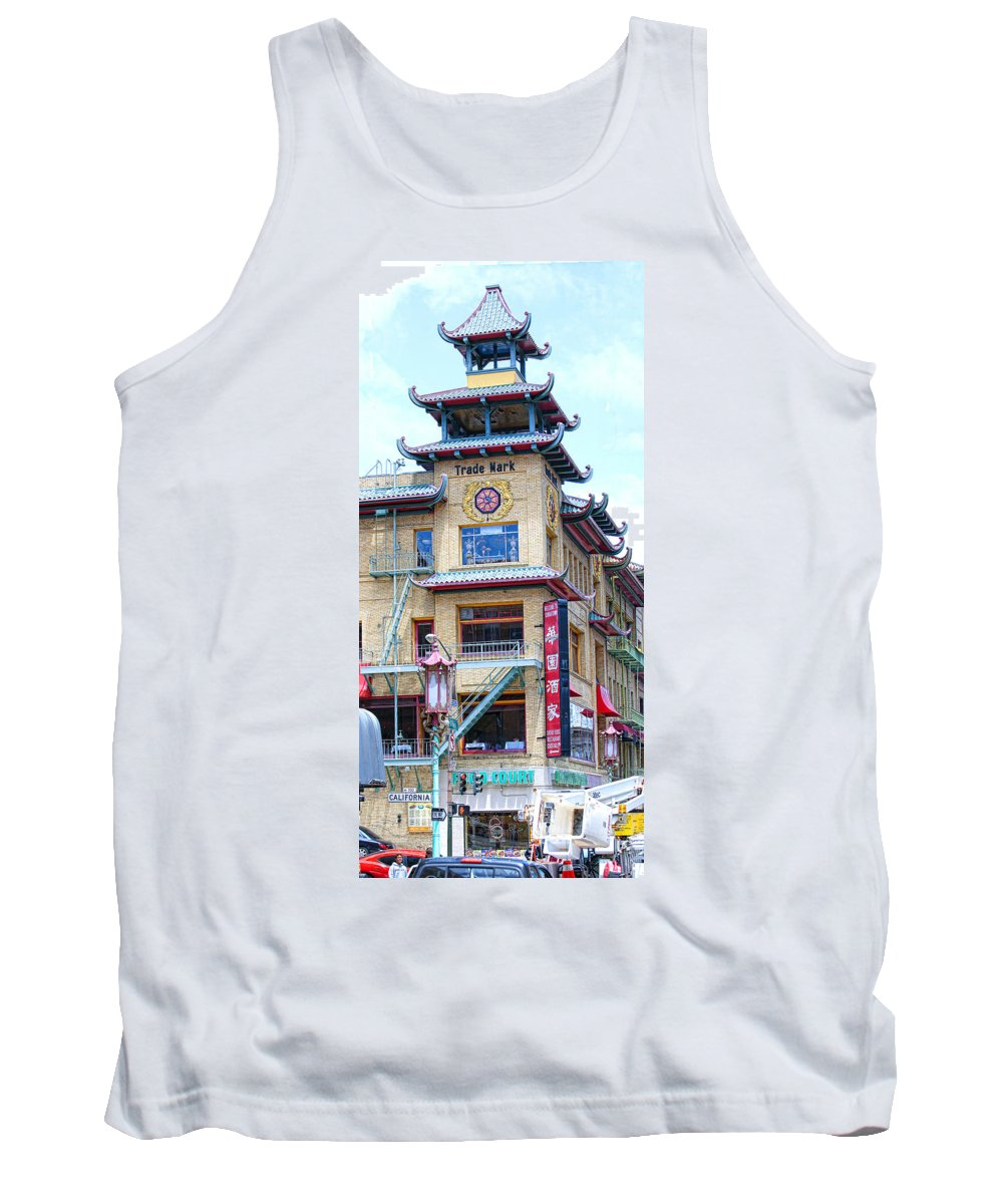 Chinatown Tank Top featuring the photograph Chinatown by Jay Hooker