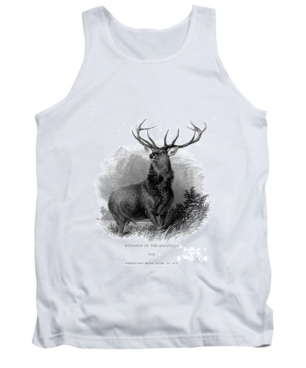 19th Century Tank Top featuring the photograph Deer by Granger